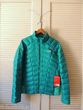 NORTH FACE KOKOMO GREEN QUINCE 800 DOWN JACKET COAT, WOMENS MEDIUM  ~NWT