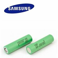 6 x 100% Genuine Samsung INR IMR 18650 High Drain 3.7 25R 2500mAh Li Battery