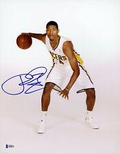 Paul George Signed 11x14 Photo Beckett BGS COA Autograph Clippers Auto RC Gem Mt