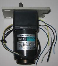 Oriental Motor 2IK6RGN-AUL Speed Control Induction Motor w/ 2GN75KA Gearhead