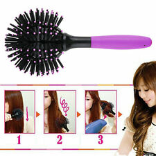 3D Hair Brush Ball Style Blow Drying Detangling Salon Heat Resistant Comb New ZY