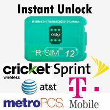 NEW 2019 RSIM 12+ R-SIM Nano UNLOCK CARD FITS iPhone X/8/7/6/6s/5/4G iOS 12 13