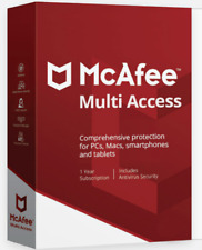 McAfee 3-Device Multi Access 2020 up to 3 Devices 1-Year Antivirus Product Key
