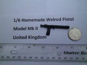 D6    1/6 Homemade WWII Welrod pistol Model Mk. II Great Britain