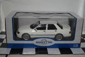 MODELCAR Group Ford Sierra Sapphire Cosworth  White 1:18 Scale MCG18172