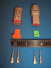 2-Way Deutsch DT connector kit