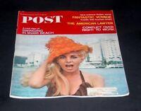 SATURDAY EVENING POST FEBRUARY 26 1966 SWINGING IN MIAMI BEACH