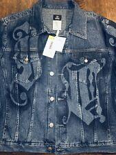 Designer Versace Jeans Couture Denim Jacket Blue Men's XL