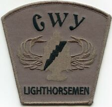 LIGHTHORSEMEN INDIAN TRIBE TRIBAL POLICE PATCH