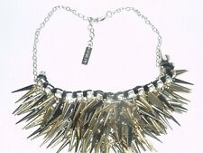 BNNT, MULTI TONE SPIKES STATEMENT NECKLACE BY SISLEY
