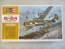 VINTAGE 1969 1/72 SCALE CONVAIR B-24 LIBERATOR WARBIRD MODEL KIT BY REVELL MIB