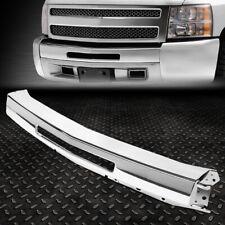 For 07 13 Chevy Silverado 1500 2500hd Steel Front Bumper Impact Center Face Bar Fits 2013 Silverado 1500