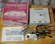 Sega Saturn Consola Blanca En Caja HST-0014 HST-3220 NTSC-J B66082846 Japan