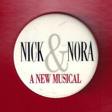 "Barry Bostwick ""NICK & NORA"" Joanna Gleason / Faith Prince 1991 FLOP Pinback"