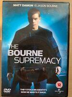 The Bourne Supremacy DVD 2004 Superb Robert Ludlum Thriller Movie w/ Matt Damon