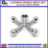 LOCKING WHEEL BOLTS M12X1.25 NUTS TAPERED FOR JEEP RENEGADE (2014-16)