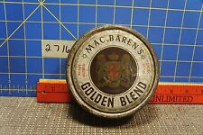 Vintage Mac Barrens Golden Blend Tobacco Tin