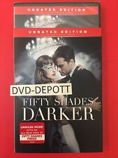 Fifty Shades Darker - Unrated Edition DVD AUTHENTIC New & Slipcover Free Shipp