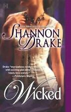 Wicked, Shannon Drake, 0373770332, Book, Good