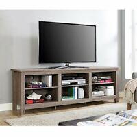 Walker Edison Wren Classic 6 Cubby TV Stand for TVs up to 80 Inches, 70 Inch,...