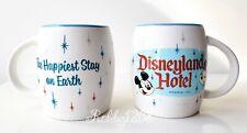 "Disney Disneyland Hotel ""Happiest Stay on Earth"" Retro Mickey Minnie Coffee Mug"