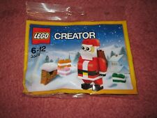 LEGO CREATOR CHRISTMAS JOLLY SANTA CLAUS/FATHER CHRISTMAS 30478 - NEW/SEALED