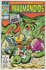 Inhumanoids, Star/Marvel issue #1 (1987), Near Mint