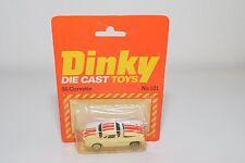 ? DINKY TOYS HONG KONG 101 CHEVROLET CORVETTE 56 WHITE MINT SEALED BOXED