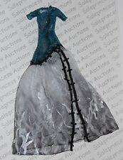 New Monster High Ghouls Rule Frankie Doll Gothic Dress Gown Replacement Loose