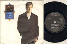 """RICK ASTLEY Together Forever  7"""" Ps, B/W I'Ll Never Set You Free, Pb 41817 (Ex-/"""