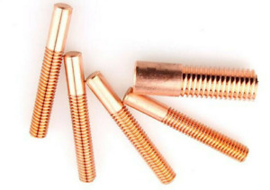 2PC Electrical Discharge Machine Electrode Copper Thread Cutting M16*30*50MM