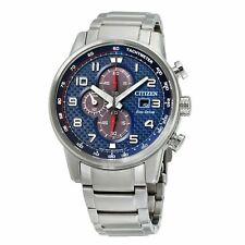 Citizen CA0680-57L Men's Primo Chronograph Blue Eco-Drive Watch