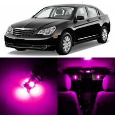 12 x Ultra PINK Interior LED Lights Package For 2007-2010 Chrysler Sebring +TOOL