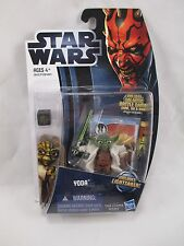 "NEW 2012 BASIC STAR WARS: THE CLONE WARS ""YODA"" #CW5 HASBRO FOR AGES 4+"