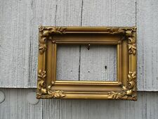 Excellent Antique Miniature Art Nouveau Ornate Picture Frame fits 3-1/2 x 5-1/2