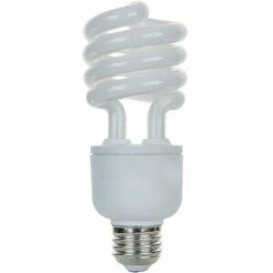 Sunlite SL20/27K/D 20W Dimmable Spiral CFL Light Bulb E26 Base Warm White