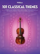 101 Classical Themes for Viola Instrumental Solo Book NEW 000155324