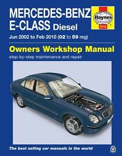 Mercedes E-Class W211 E220 E270 E280 & E320 CDI 2002 - 2009 Haynes Manual 5710