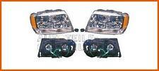 Scheinwerfer-Satz Jeep Chrysler Grand Cherokee Bj. 99-04