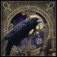 Chart Needlework DIY - Counted Cross Stitch Patterns - Talisman Crow Pentagram