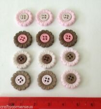 Flower Jackets & Coats Sewing Buttons