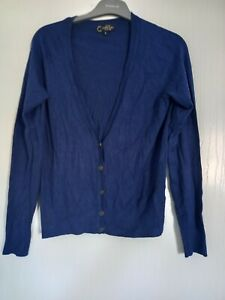 Ladies Royal Blue Cardigan.size 10.New Look