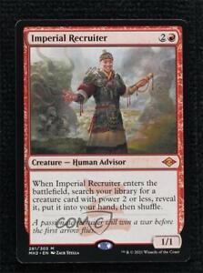 2021 Magic: The Gathering - Modern Horizons 2 Imperial Recruiter #281