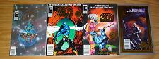 Zen Intergalactic Ninja #0 & 1-3 VF/NM complete series - all newsstand set  maus