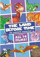 Land Before Time Complete Collection ALL 14 Film DVD Set Children Lot Kids Video
