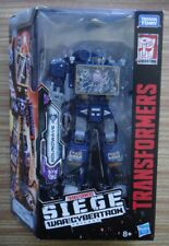 Transformers War for Cybertron Siege Soundwave – SEALED