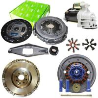 FLYWHEEL WITH VALEO CLUTCH AND STARTER FOR FORD TRANSIT PLATFORM/CHASSIS 2.4 TDE