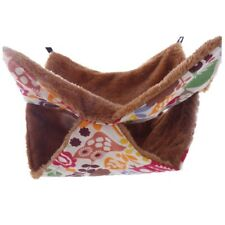 Quilted Pouch Pet House Hammock Rat Ferret Squirrel Bed Toy Nest for Chinchilla
