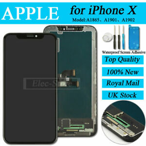 For iPhone X 10 Black Screen Replacement LCD Display Assembly Touch Digitizer