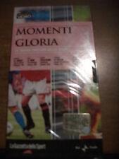 VHS GAZZETTA SPORT MOMENTI DI GLORIA N.1 - TOMBA CIPOLLINI ARNOUX VILLENEUVE ECC